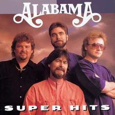 Alabama. Lost track of the number of times I saw them in concert or at Myrtle Beach.