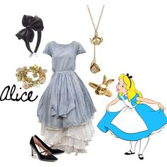 """Alice"" by waitingforthelights on Polyvore"