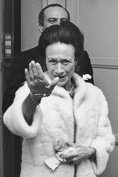 Wallis Simpson, Duchess of Windsor, 1974.