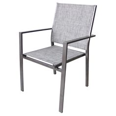 "$43 at Rona - ""Manhattan"" Stackable Patio Chair - 34.25"" - Grey"