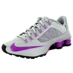 Nike Shox Superfly R4 Womens 653479-005 Silver Purple Running Shoes Size 7.5