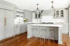 gray kitchen design idea 55