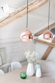 copper interior home lamp accessories - koper interieur huis accessoire1