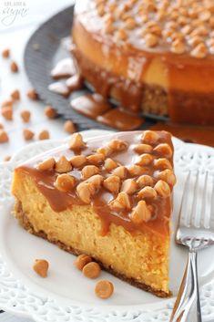 Loaded Butterscotch Cheesecake – so amazingly full of butterscotch! To die for![EXTRACT]Loaded Butterscotch Cheesecake – so amazingly full of butterscotch! To die for![EXTRACT]Loaded Butterscotch Cheesecake – so amazingly full of butterscotch! To die for! Best Cheesecake, Cheesecake Recipes, Dessert Recipes, Coffee Cheesecake, Caramel Cheesecake, Cheesecake Brownies, Just Desserts, Delicious Desserts, Yummy Food