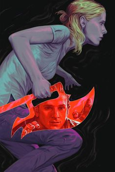 Buffy the Vampire Slayer Season 10 di Steve Morris e Rebeka Isaacs - Sarah Michelle Gellar, Joss Whedon, Comic Book Covers, Comic Books, Steve Morris, Buffy Summers, Buffy The Vampire Slayer, Vampire Knight, Great Tv Shows
