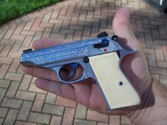 Custom Walther PP .32 VerchromtLoading that magazine is a pain! Excellent loader available for your handgun Get your Magazine speedloader today! http://www.amazon.com/shops/raeind