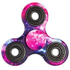 Fidget Spinner ,Premium Hybrid Si3N4 Bearing Tri-Spinner Fidget Spinning Toys Kill Time Relieve Stress