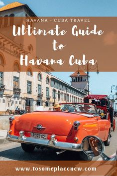If you are planning a trip to Havana, you have to read this! All the insider tips about travel, food, tours and sightseeing & experience in #havana