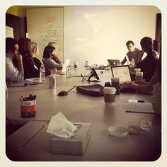 Paul Adams was brilliant! @Facebook HQ
