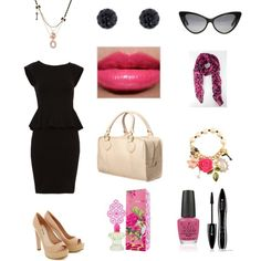 Miss Piggy..., created by threadinducedeuphoria on Polyvore