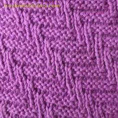 Fishtail knitting stitches