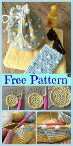 Marvelous Crochet A Shell Stitch Purse Bag Ideas. Wonderful Crochet A Shell Stitch Purse Bag Ideas. Crochet Drawstring Bag, Small Drawstring Bag, Free Crochet Bag, Crochet Shell Stitch, Bead Crochet, Crochet Bags, Irish Crochet, Purse Patterns Free, Crochet Purse Patterns