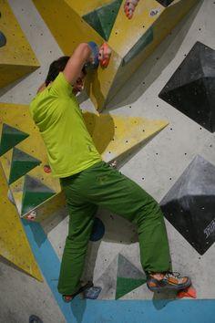 """Testbericht - JUNG Klettermode: """"Emil"""" - die Kletterhose macht jede Bewegung mit (© airFreshing.com)"""