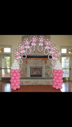 Baby shower centerpieces girl baby girl shower decoration ideas decorating for a baby shower theme baby Shower Party, Baby Shower Parties, Baby Shower Themes, Baby Boy Shower, Baby Shower Gifts, Shower Ideas, Baby Showers, Baby Shower Chair, Shower Time