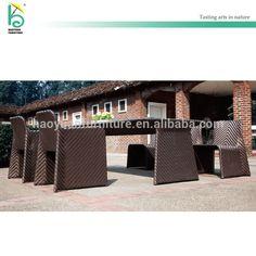 Artículo # HY-2815 gran moda outdoor rattan muebles villa