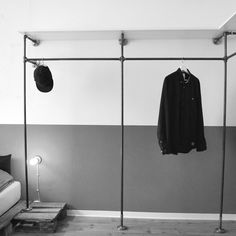 Lovely Open wardrobe designed by various Offener Kleiderschrank von various