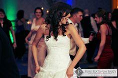 #pureplatinumparty #weddingentainment #custommonogram #uplighting #thegrove