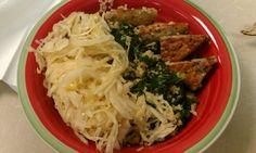 Sesame kale macrobiotic bowl...just like Native foods cafe. Vegan and detoxifying.