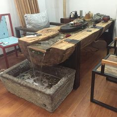 Café Tables Japanese Style Antique Small Tea Table Folding Legs Rectangle Paulownia Wood Traditional Asian Furniture Living Room Low Table Harmonious Colors