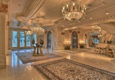 Hallway ideas for large house with luxury design 47 – Mansions homes – … - DIY Traumhaus