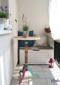 Metamorfoza stolika kawowego - Klinika DIY Desk, Furniture, Home Decor, Balcony, Desktop, Decoration Home, Room Decor, Table Desk, Home Furnishings