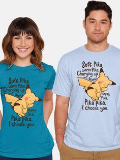 Cool T-Shirt for Women and Men Pikachu  #pokemon #thebigbangtheory