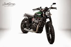 "Racing Cafè: Triumph ""Falstaff"" by South Garage Motorcycles"