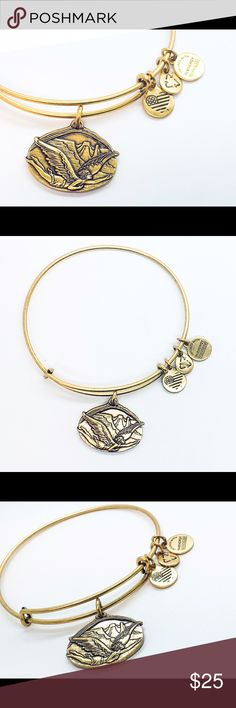 Alex and Ani Guardian of freedom bangle expandable New with no tags no box gold color Alex & Ani Jewelry Bracelets