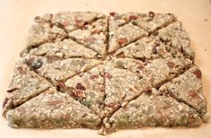 Helyn's Plant-Based Kitchen » Trail Mix Scones. Grain-free and Oil-free.