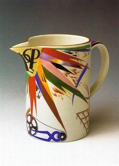 Rudolph Willdeh, 1920s, porcelain, enamel