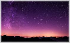 Heute ist wieder Sternschnuppen-Nacht!