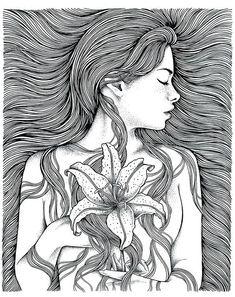 Dark Art Drawings, Pencil Art Drawings, Art Drawings Sketches, Art And Illustration, Dibujos Zentangle Art, Mandala Art Lesson, Doodle Art Designs, Arte Sketchbook, Psychedelic Art