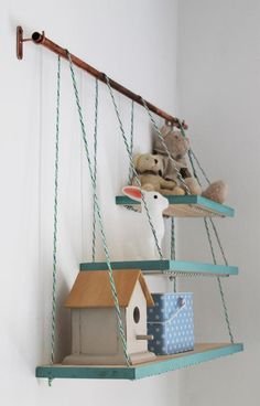 I am always looking for new ways to add shelving to my home because letâs face it you can never have enough shelving! This little gem is a feature in my nursery and it was such an easy little project that I just have to share how I did it.