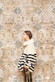Collection Automne Hiver 2016 • Fall Winter 2016 • Manteau Arctique et Short Robinson #mesdemoiselles #fallwinter #collection #coat #reversiblecoat #shorts #look #lookbook #style #FW16 #mesdemoisellesparis #colddays