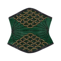 So excited to get this from The Violet Vixen. Lady Venom Underbust - Green #thevioletvixen