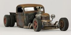 John Tolcher Weather Models, Plastic Model Cars, Hot Wheels, Panther, Hot Rods, Tractors, Antique Cars, Rust, Modeling