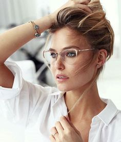 trendy glasses frames for women made of thin metals - trendy glasses . - trendy glasses frames for women made of thin metals – trendy glasses frames for women mad - New Glasses, Glasses Online, Girls With Glasses, Cat Eye Glasses, Women In Glasses, Rose Gold Glasses, Glasses Outfit, Glasses Style, Eyeglasses For Women Round Face