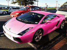 Pink Lamborghini Gallardo
