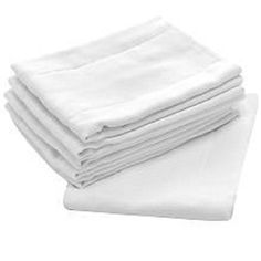 """OsoCozy - Indian Cotton Prefolds (Dozen) - Soft and Absorbent Baby Diapers Made of 100% Indian Cotton - Infant Diaper, 12""""x16"""", Fits 7-15 Lbs. - Diaper Service Quality (DSQ), (Infant, 4x6x4)"""