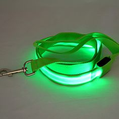 Dog Leash LED Lights / Safety Red / White / Green / Blue / Pink / Yellow / Orange Nylon - EUR € 6.85