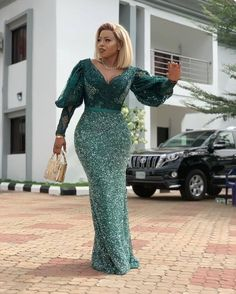 nigerian dress styles Latest Aso Ebi Styles 40 African Clothing Aso ebi Styles for Ladies: Trendy Lace Designs 2020 - photo African Maxi Dresses, Latest African Fashion Dresses, African Print Fashion, African Attire, Latest Fashion, Nigerian Dress Styles, Lace Gown Styles, African Lace Styles, African Traditional Dresses