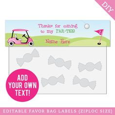 Personalized Golf Towels * You could get extra information at the photo web link. Sports Party Favors, Golf Party, Party Favor Tags, Diy Party, Golf Theme, Shark Party, Bag Toppers, Tent Cards, 6th Birthday Parties