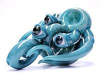Kraken glass pipe