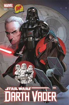 The original Dark Lord of the Sith stars in his first ongoing series! Ever since Darth Vader made his first on-screen appearance, he became the one of the most popular villains to ever haunt an audience's dreams! Now, follow Vader straight from the ending of A NEW HOPE (and the pages of the new STAR WARS comic book) into his own series, showing the Empire's war with the Rebel Alliance from the other side! Writer Kieron Gillen (Uncanny X-Men, Journey Into Mystery, Iron Man) and artist ...