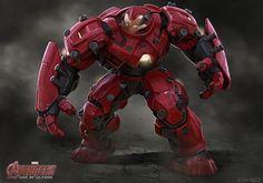 HulkBuster 5 Avengers 2 Avengers: Age of Ultron Concept Art Reveals Alternate Ultron & Hulkbuster Designs