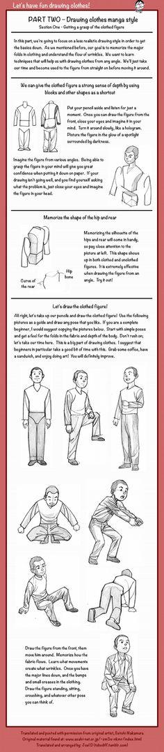 DRAWING THE CLOTHES 2 by Seiichi Nakamura & Joel D tobediff.tumblr.com