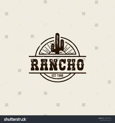 Find Round Logo Ranch Picture Cactus Vintage stock images in HD and millions of other royalty-free stock photos, illustrations and vectors in the Shutterstock collection. Round Logo Design, Vintage Logo Design, Vintage Logos, Vintage Style, Ad Design, Graphic Design, Portfolio Book, Portfolio Layout, Western Logo
