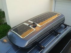 130 Watt Solar-Dachbox