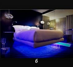 find this pin and more on - Cool Bedroom Lighting Ideas