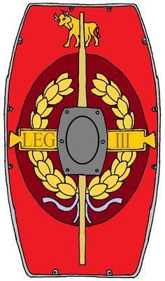 Roman Shield, Roman Legion, Shield Design, Roman History, Roman Empire, Eagles, Army, Symbols, Fantasy